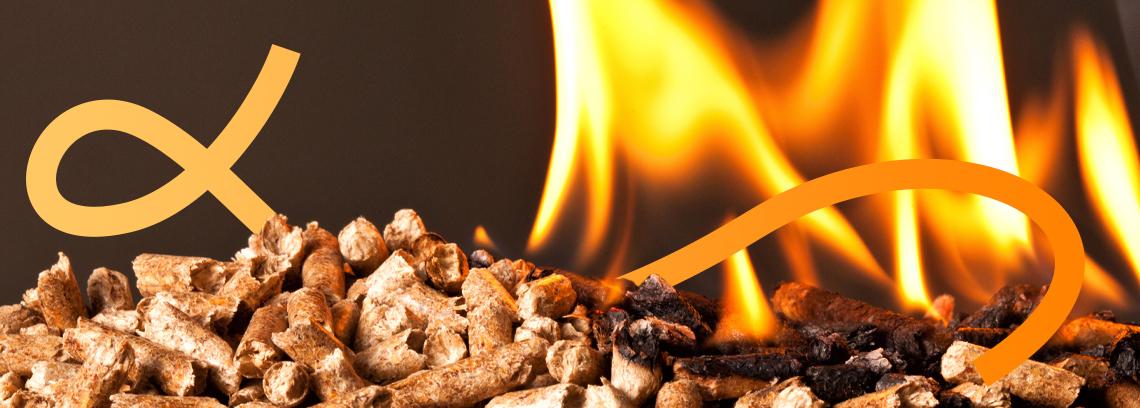 Granulé en combustion